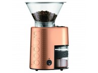BODUM Bistro Electric Burr Coffee Grinder Copper